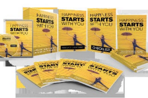 Happiness Starts with YOU - 5 Books, 10 Videos, 10 Printable Quotes