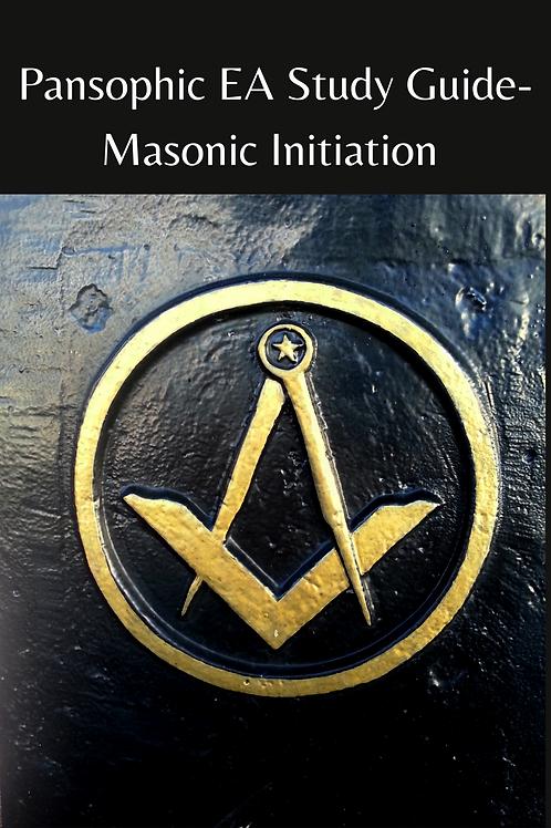 Pansophic EA Study Guide-Masonic Initiation