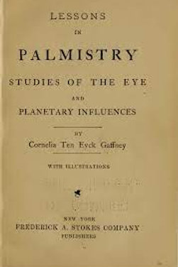 Lessons in Palmistry and the Planets