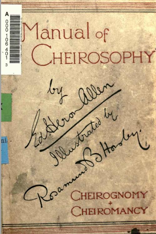 Manual of Cheirosophy & Cheiromancy
