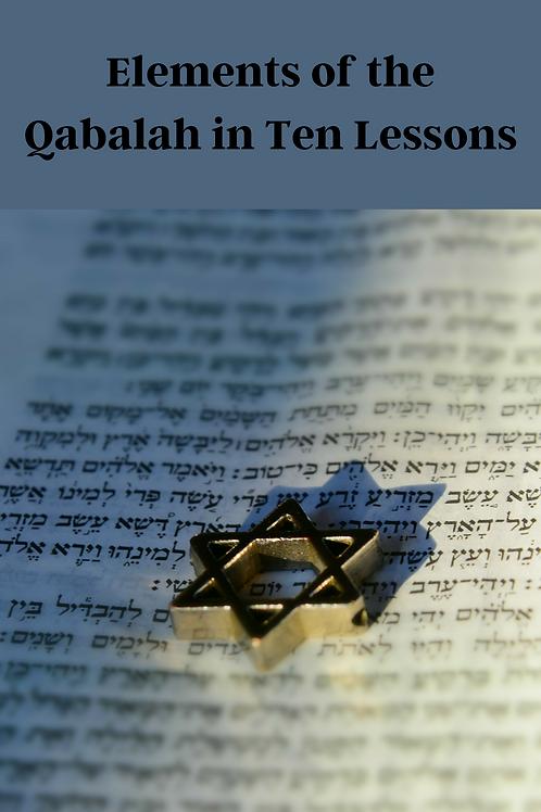 Elements of the Qabalah in Ten Lessons - Elphias Levi