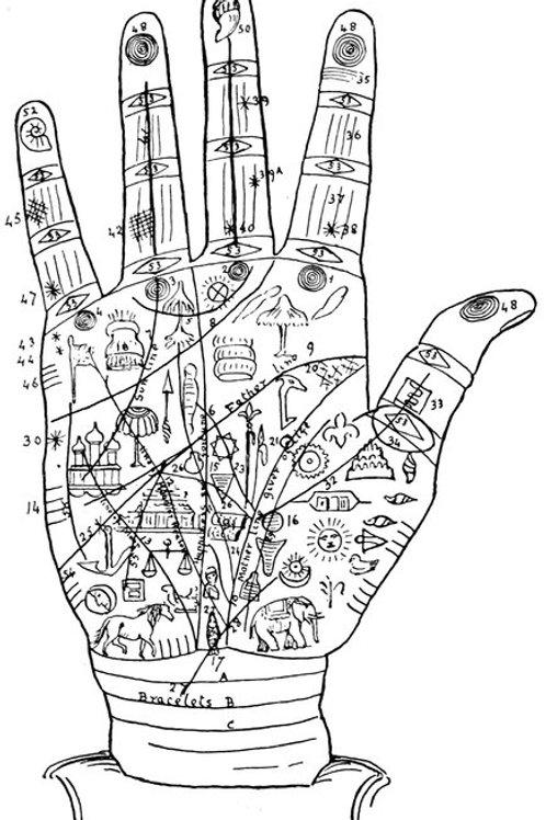 Indian Palmistry - J B Dale 1895