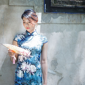 Sandy旗袍-林家花園