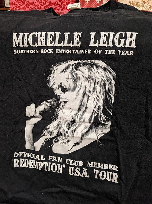 Michelle Leigh Redemption  XL T-shirt  **New Website Special**