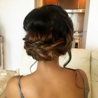 Boho Hair Up-Style