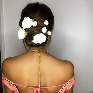 Romantic Hair Up-Do