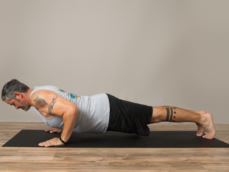 Yoga Builds Strength