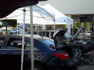 Hail Damage can cause severe damage to Car Dealers!