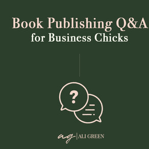Book Publishing Q&A for Business Chicks Online Community