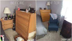 Headley bedroom before and after 1