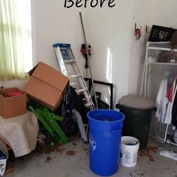 Dowdell garage before 2