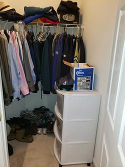 Patterson larry closet before