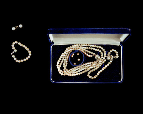 Two Hundred and Forty-One Pearls Originally from Dad to Mom, Stored