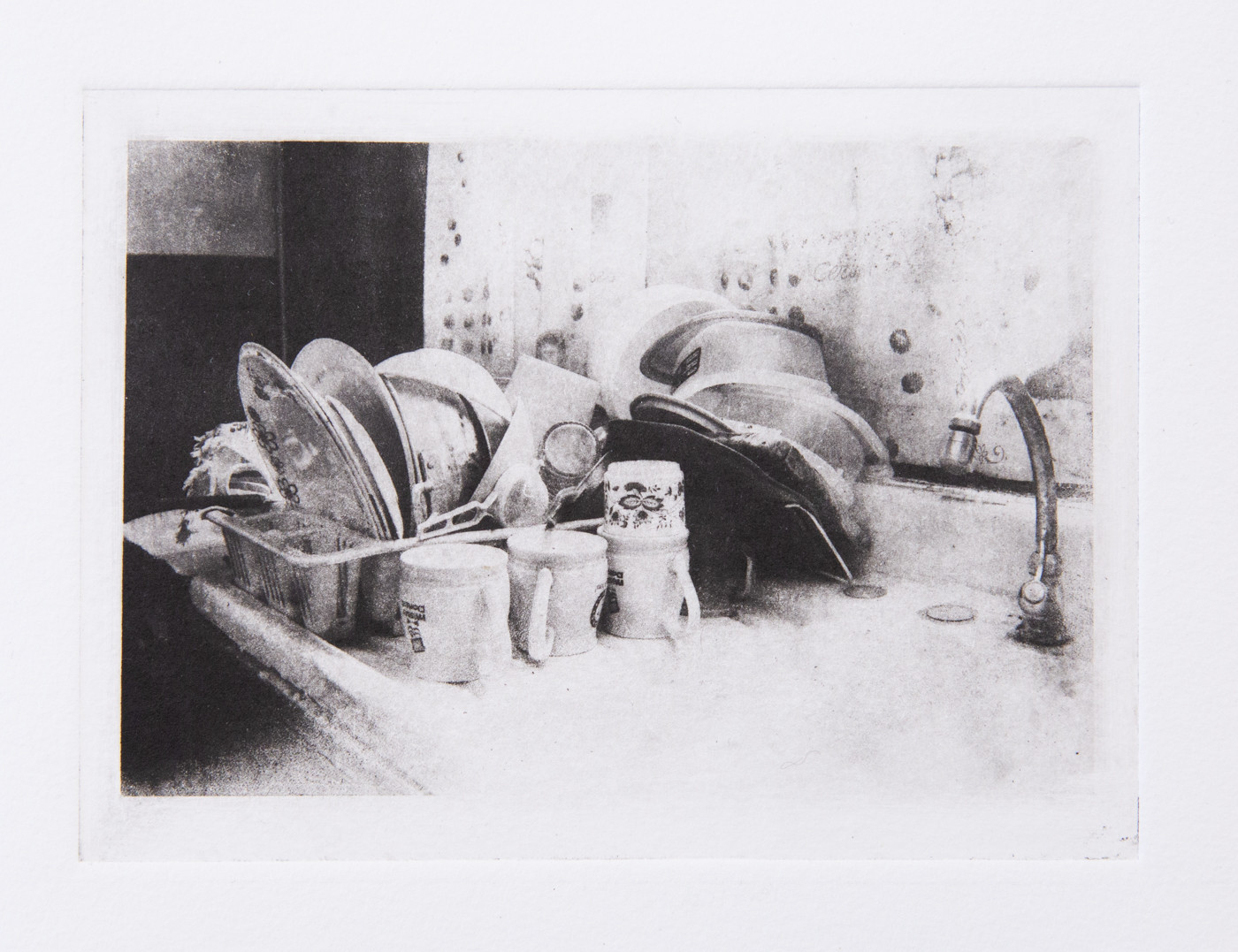 """5""""x7"""" Photogravure on Hahnemuhle Copperplate Paper"""