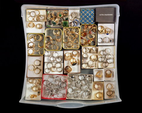 One Hundred and Twenty-One Rings, Stored