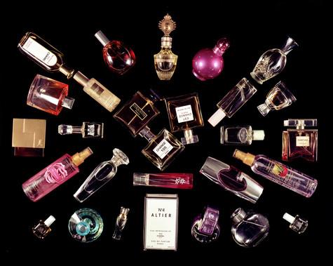 Twenty-Eight Perfume Bottles