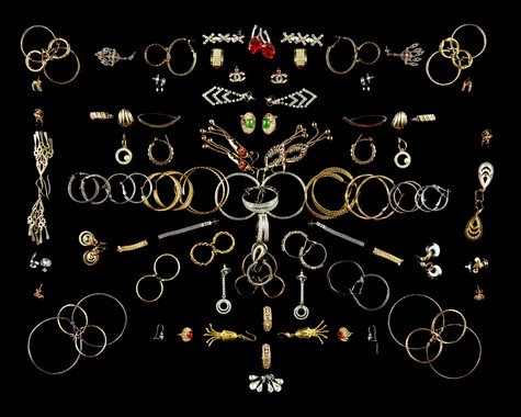Fifty-Five Pairs of Earrings and Five Solo Earrings