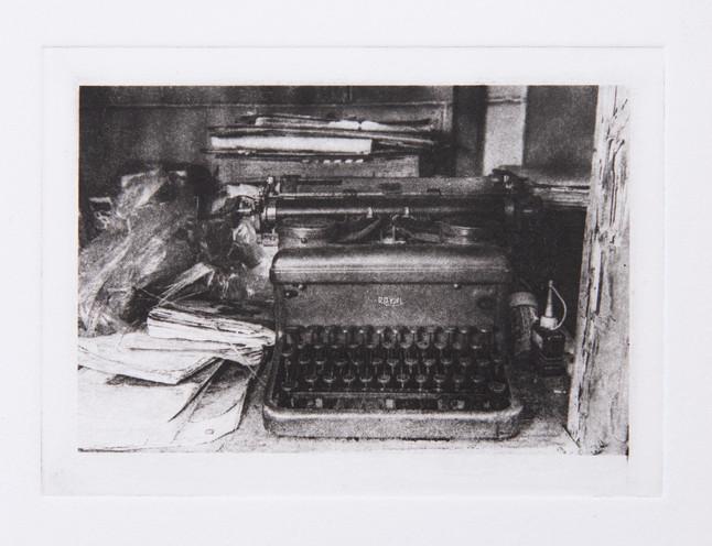 Typewriter in the Shop