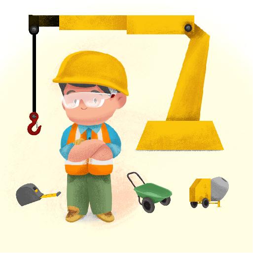 قصّة عامل البناء