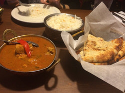 Chicken Curry and Nann