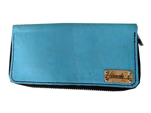 PORTEFEUILLES JÉRÔME - Bleu Turquoise