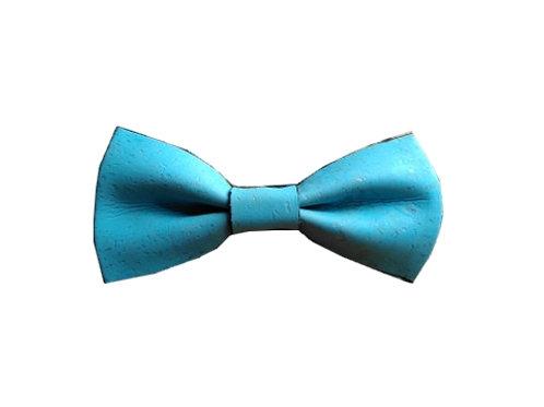 NŒUD PAPILLON ANNE - Bleu turquoise