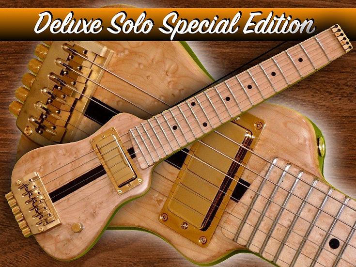 Deluxe Solo Custom Maple Gold Mac Ebony#DLXSCM-51