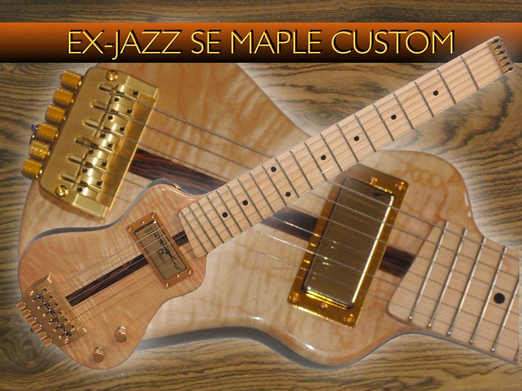 EX-JAZZ SE Maple Custom #EXJC-81