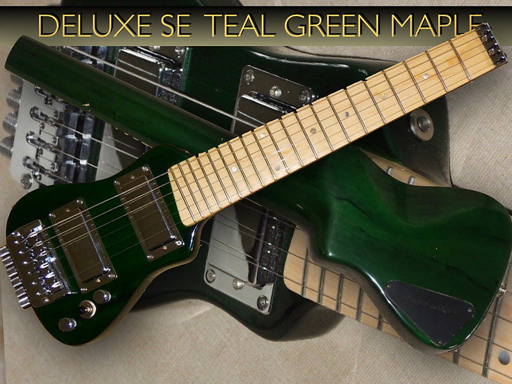 Deluxe SE Teal Green Maple Chrome #DLXSE-14