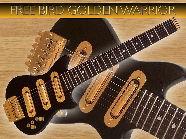 Free Bird EX GW Natural Satin Gold #FBSC-22
