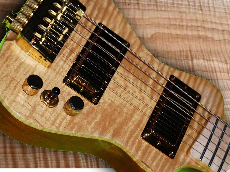 lap axe electric travel guitars portable electric guitars. Black Bedroom Furniture Sets. Home Design Ideas