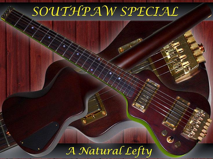 EX-Classic Left Handed Nat Satin/Gold/#LH10-1