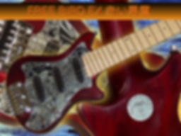 travel electric guitars with hot rail pickups