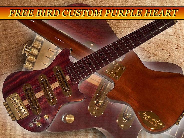 Custom electric travel guitar