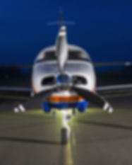 Small private single-engine piston aircr