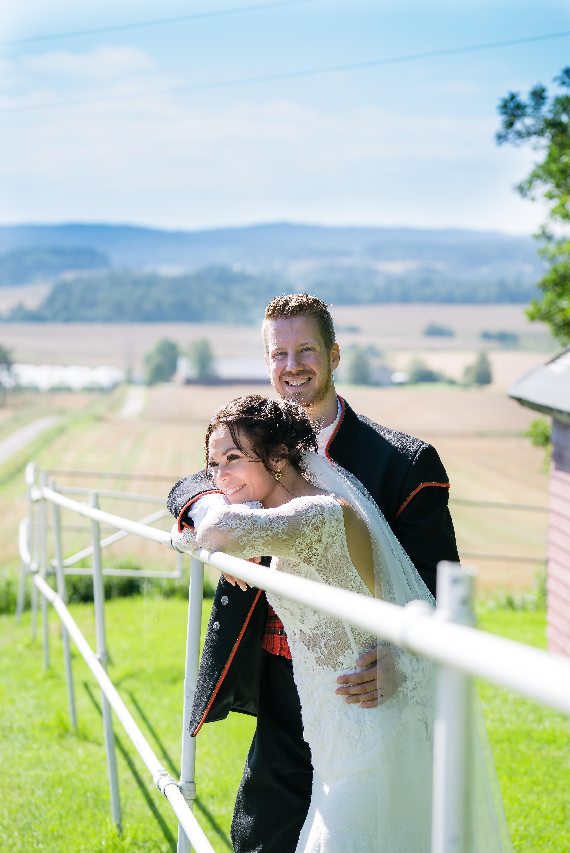 De offisielle bryllups bildene.