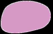 a lilac purple oval shaped blob