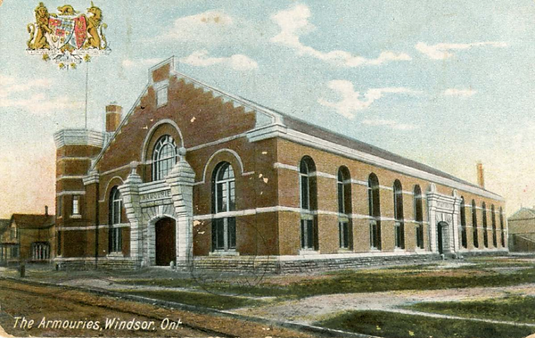 Windsor Armories postcar 1911