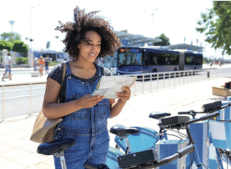 Step by step: getting to the airport sustainably – LAirA's recommendations for active mobility