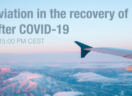 Webinar – The Role of Aviation in the Recovery of Europe and its Regions after COVID-19