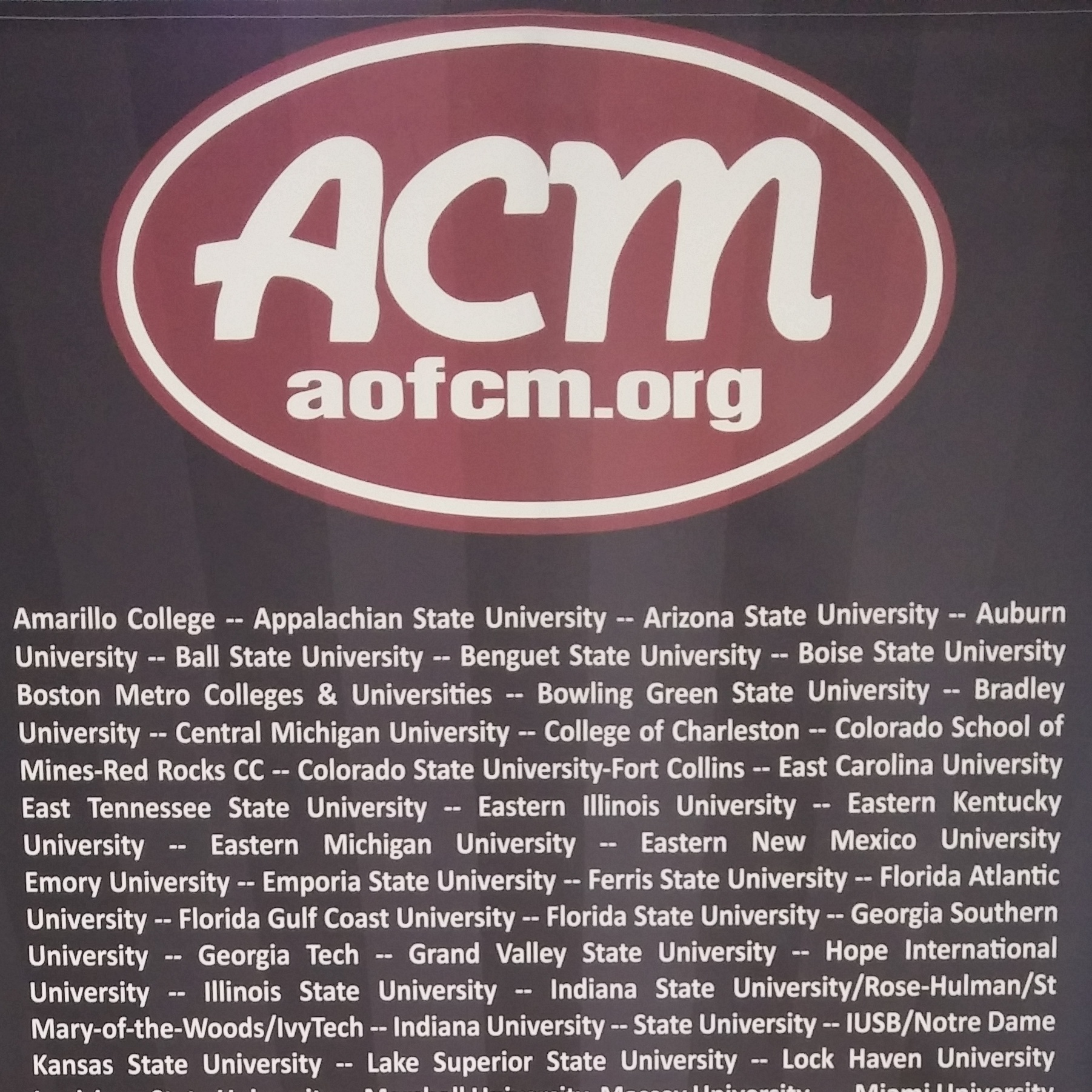 Assoc. of College Ministries