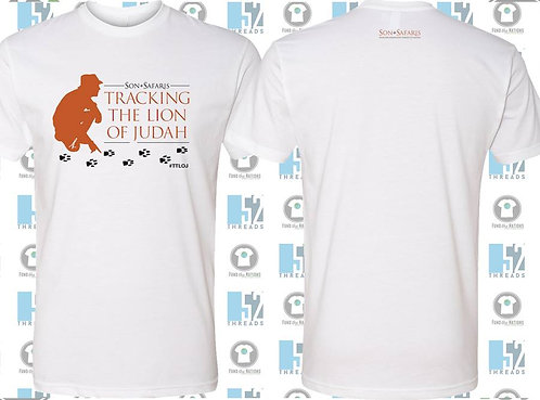Tracking the Lion of Judah T-shirt