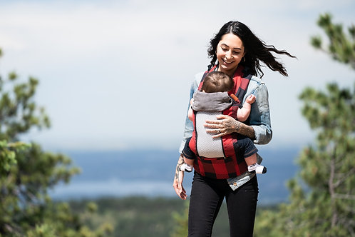 HIRE Beco 8 Baby Carrier - Buffalo Plaid