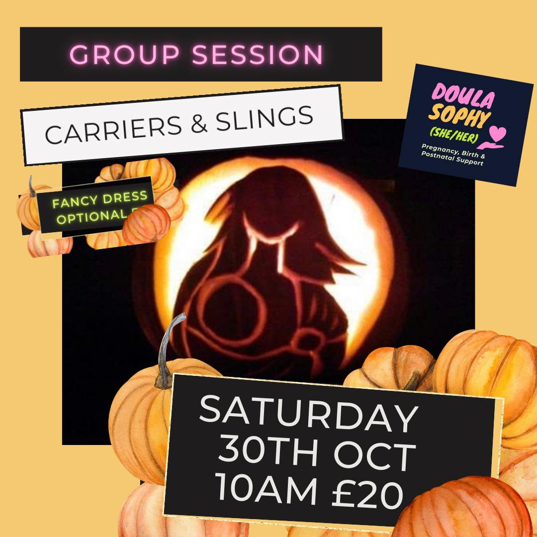 Group Session - Baby Slings & Carriers