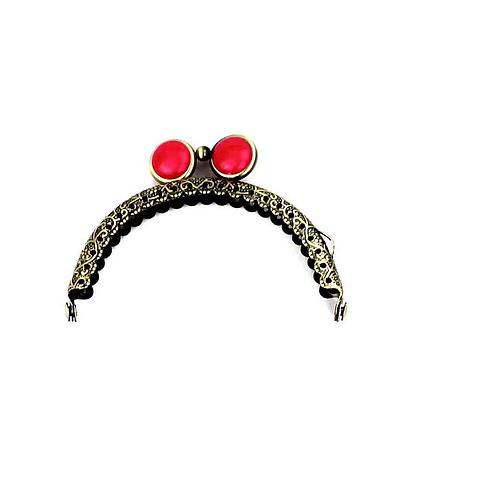 APz 6.0 (rot) Verschluss mit flacher Perle