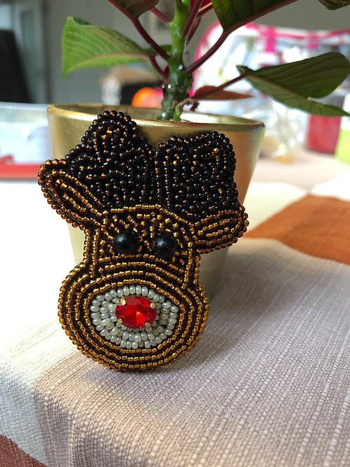 APb085 Brosche Rudolph