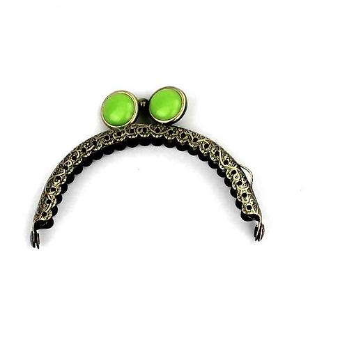 APz 6.0 (apfelgrün) Verschluss mit flacher Perle