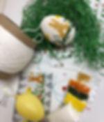 Ostereier aus Perlen