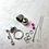 Thumbnail: APz01 Zubehör für Armband (silber)