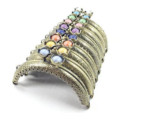 5.2 Verschluss mit Farbigen Perlen (weiss)